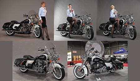 Silvia Szépe a Harley-Davidson na 18. DigiForu