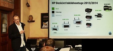 HP tiskárny a multifunkce