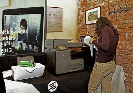 Hewlett-Packard představil nové tiskárny a notebooky