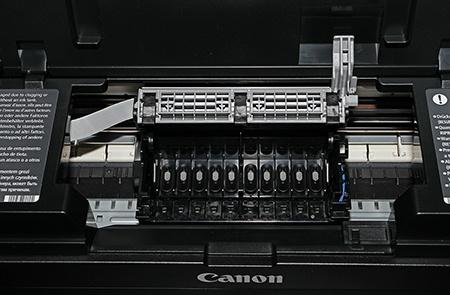Canon PIXMA Pro-10 - vložený rámeček tiskové hlavy