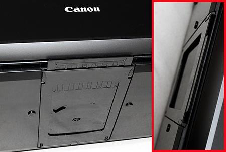 slot ve spodní části pro uložení adaptéru