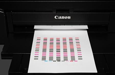 Canon PIXMA Pro-10 - 1. kontrolní tisk po instalaci