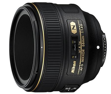 Nikon AF-S Nikkor 58 mm f/1,4G