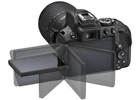 Nikon D5300 - flexibilní displej