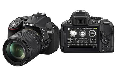 Nikon D5300 s Wi-Fi a GPS