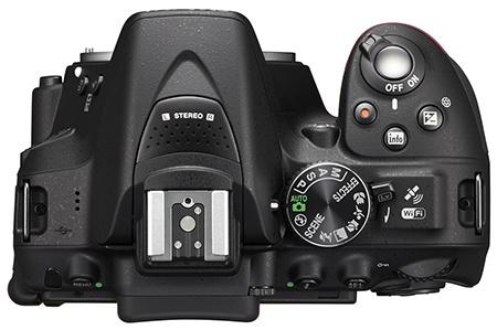 Nikon D5300 shora