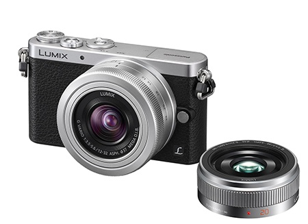 Panasonic Lumix DMC-GM1 - double lens kit