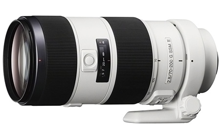 Sony 70–200 mm 1:2,8 G SSM II