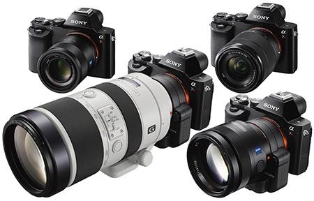 A7R a ukázky různých objektivů včetně velkých A via adaptér