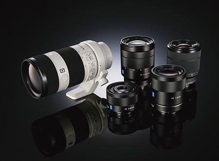 Nové full-frame výměnné objektivy Sony a Carl Zeiss
