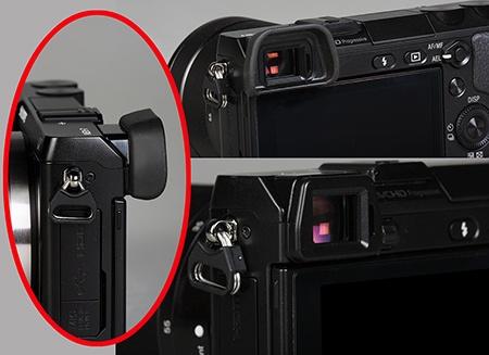 Sony Alfa NEX-7 - integrovaný digitální hledáček