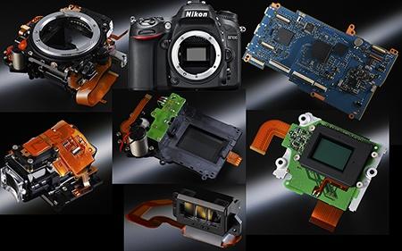 Nikon D7100 - systémové moduly