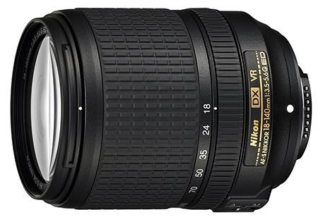 Nikon AF-S DX Nikkor 18–140 mm 1:3,5–5,6G ED VR