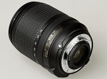 Nikon AF-S DX Nikkor 3,5–5,6/18–140G ED VR - bajonet