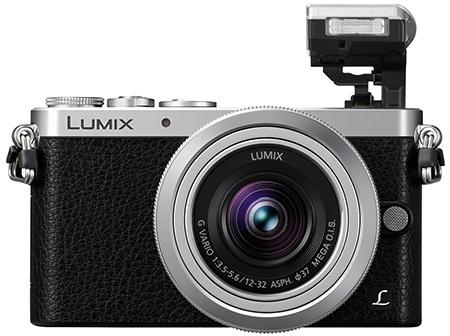 Lumix GM1 - výklopný blesk