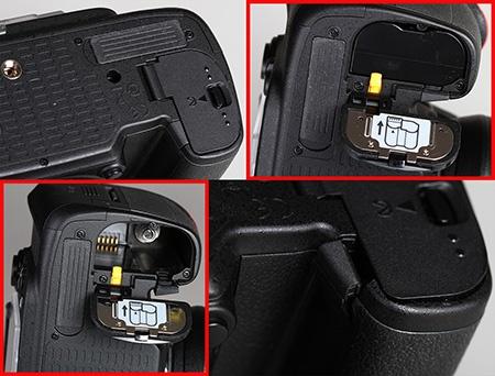 Nikon D610 - baterie