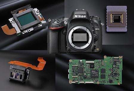 Nikon D610 - bajonet a vybrané systémové prvky