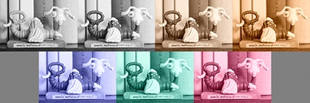 monochromaticky + barevné varianty