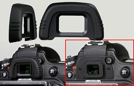 Nikon D600 - hledáček