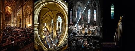 Katedrála a živá setkání – tradice a víra v obrazech