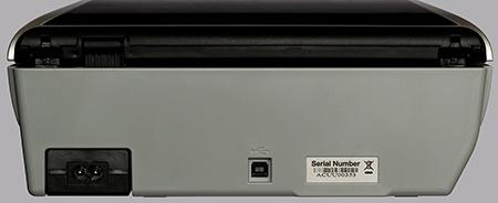 CanoScan 9000F Mark II - pohled zezadu