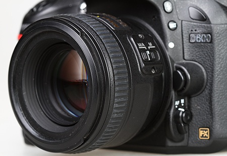 Nikon AF-S Nikkor 50 mm 1:1,4G na full-frame DSLR Nikon D600