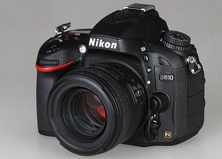 Nikon AF-S Nikkor 50 mm 1:1,4G na full-frame DSLR Nikon D610