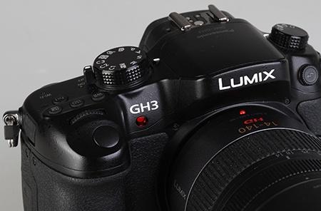 Lumix GH3 - pomocné světlo autofokusu