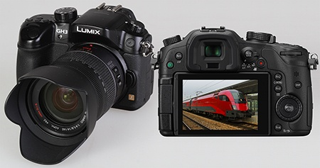 Lumix GH3 - displej