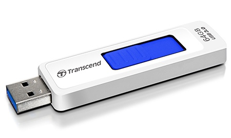 Transcend JetFlash 770 s kapacitou 64 GB