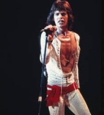 Mick Jagger, Onstage at The Forum, Los Angeles, CA, 1972